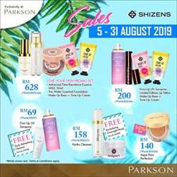 Department Stores offers in the Parkson catalogue in Shah Alam