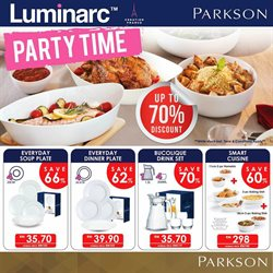 Department Stores offers in the Parkson catalogue in Klang