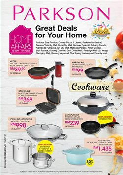 Department Stores offers in the Parkson catalogue in Johor Bahru ( 6 days left )