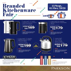 Department Stores offers in the Parkson catalogue in Sunway-Subang Jaya ( 6 days left )