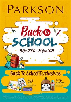 Back to School offers in Parkson catalogue ( 5 days left)