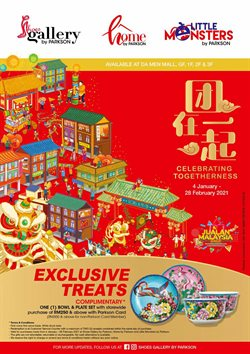 Department Stores offers in Parkson catalogue ( More than a month)