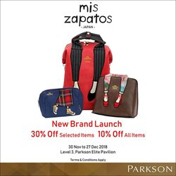 Offers from Parkson in the Kuala Lumpur leaflet