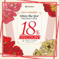 Offers from Parkson in the Kuching leaflet