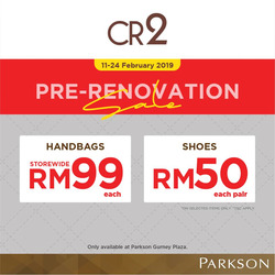 Offers from Parkson in the Penang leaflet