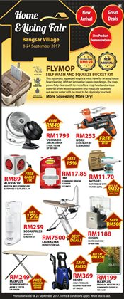 Offers from Home-Fix in the Petaling Jaya leaflet
