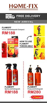 Offers from Home-Fix in the Seremban leaflet