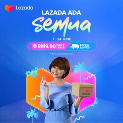 Lazada offers in Lazada catalogue ( 6 days left)