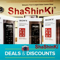 Department Stores offers in ShaShinKi catalogue ( 3 days left)