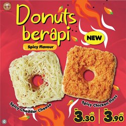 Restaurants offers in Big Apple Donuts catalogue ( More than a month)