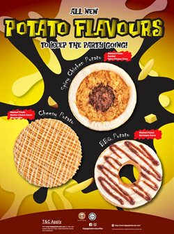 Restaurants offers in the Big Apple Donuts catalogue in Kajang-Bangi ( More than a month )