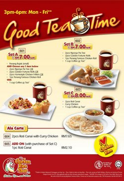 Restaurants offers in The Chicken Rice catalogue ( 26 days left)