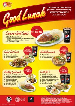 Restaurants offers in The Chicken Rice catalogue ( More than a month)