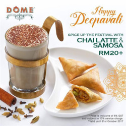 Offers from Dome Cafe in the Kuala Lumpur leaflet