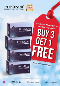 Offers from Better Vision in the Kuala Lumpur leaflet