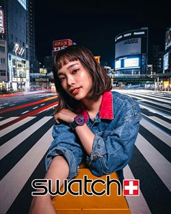 Swatch catalogue in Penang ( More than a month )