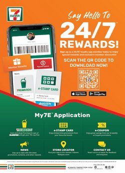 Supermarkets offers in 7 Eleven catalogue ( More than a month)