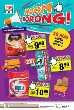 Supermarkets offers in the 7 Eleven catalogue in Kuala Terengganu