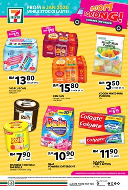 Offers from 7 Eleven in the Penang leaflet
