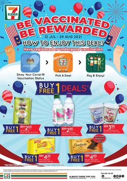 7 Eleven offers in 7 Eleven catalogue ( 24 days left)