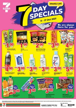 7 Eleven offers in 7 Eleven catalogue ( Expires tomorrow)