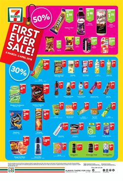 Offers from 7 Eleven in the Kuching leaflet