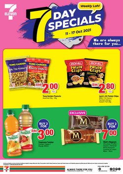 7 Eleven offers in 7 Eleven catalogue ( 22 days left)