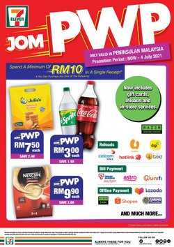 Supermarkets offers in 7 Eleven catalogue ( 21 days left)