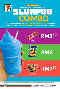 Offers from 7 Eleven in the Kota Kinabalu leaflet