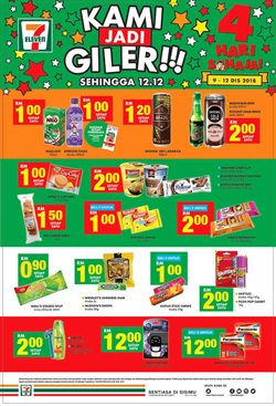 Sunway Pyramid offers in the 7 Eleven catalogue in Petaling Jaya