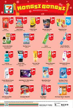 Offers from 7 Eleven in the Petaling Jaya leaflet