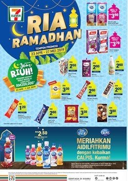 Offers from 7 Eleven in the Kedah leaflet