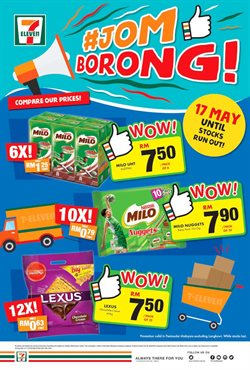 Supermarkets offers in the 7 Eleven catalogue in Kajang-Bangi