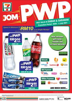 Supermarkets offers in 7 Eleven catalogue ( 17 days left)