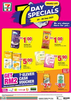 Supermarkets offers in 7 Eleven catalogue ( Published today)