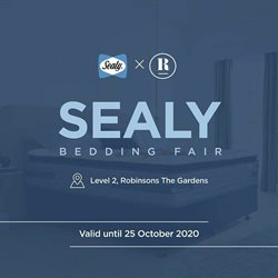 Sealy offers in Sealy catalogue ( Expired)