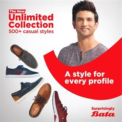 Clothes, shoes & accessories offers in the Bata catalogue in Ipoh