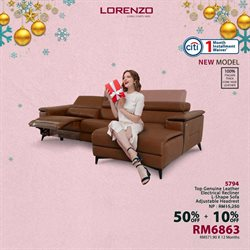 Home & Furniture offers in the Lorenzo catalogue in Melaka