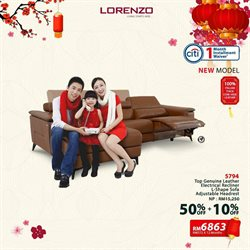 Home & Furniture offers in the Lorenzo catalogue in Klang