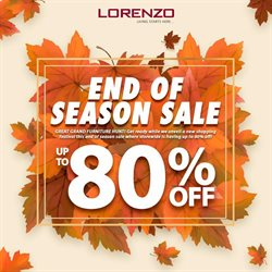 Home & Furniture offers in the Lorenzo catalogue in Kajang-Bangi ( 10 days left )