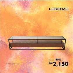 Offers from Lorenzo in the Kuala Lumpur leaflet
