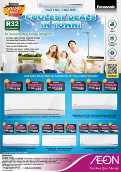 Offers from AEON Shopping Centre in the Sunway-Subang Jaya  leaflet