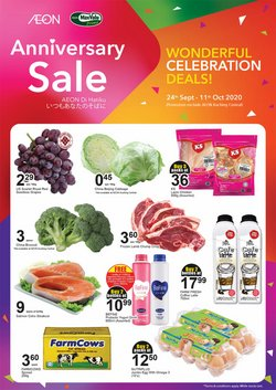 Supermarkets offers in the AEON Shopping Centre catalogue in Melaka ( 12 days left )