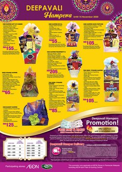 Supermarkets offers in AEON Shopping Centre catalogue ( 19 days left)