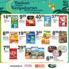 Supermarkets offers in the AEON Shopping Centre catalogue in Johor Bahru ( Expires today )