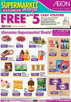 Offers from AEON Shopping Centre in the Kuching leaflet