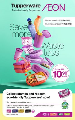 AEON Shopping Centre offers in AEON Shopping Centre catalogue ( More than a month)