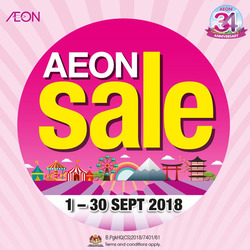 Offers from AEON Shopping Centre in the Kuala Lumpur leaflet