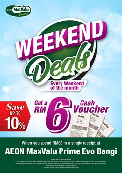 Offers from MaxValu in the Petaling Jaya leaflet
