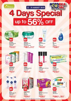 Perfume & Beauty offers in the AEON Wellness catalogue in Johor Bahru